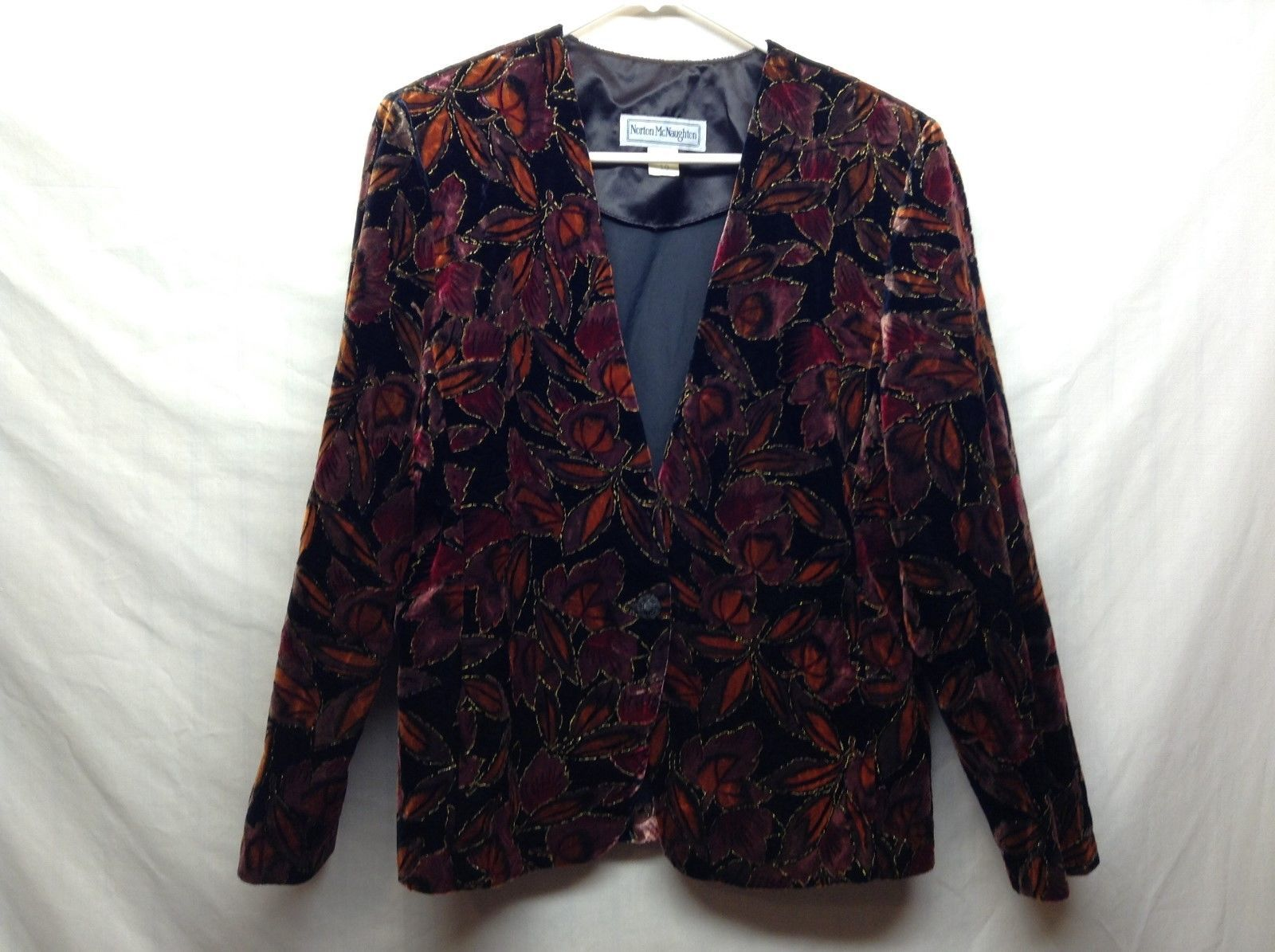 Norton McNaughton Multicolored Blazer Sz 10