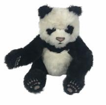 """2008 Hasbro Interactive Fur Real Friends 12"""" Love Lug Cub Panda Bear - $24.74"""