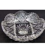 American Brilliant Period Cut Glass Signed Straus Corinthian pattern  An... - $108.55