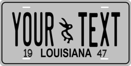 Louisiana 1947 License Plate Personalized Custom Car Bike Motorcycle Moped Tag - $10.99+