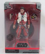 Star Wars Elite Series POE DAMERON Die Cast Action Figure, Disney Store - $19.79