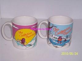 2 California Raisins Coffee Mug Ceramic Collectible Great Gift - $27.97
