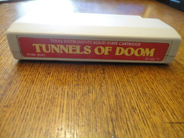 TI 99/4A Tunnels of Doom red label cartridge tested RPG Texas Instrument... - $7.19