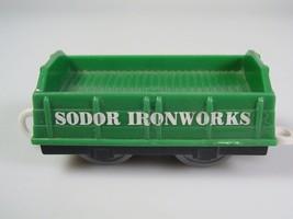 Thomas Trackmaster sodor ironworks green train car - $16.01