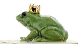 Hagen Renaker Miniature Frog Prince Small Ceramic Figurine image 3