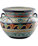 large Talavera Flower Planter - £65.33 GBP
