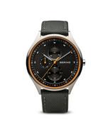 BERING Time Men's Titanium Collection Nylon Strap Watch 41mm - 11741-879 - $155.82