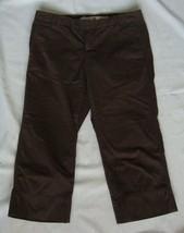 GAP brown  Cropped  Capris PANTS  size 1R  30X20 - $5.99