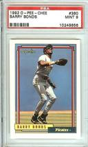 barry bonds  1992 o pee chee psa 9 pittsburgh pirates san francisco  giants - $9.99