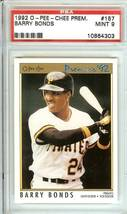 barry bonds 1992 o pee chee psa 9 pittsburgh pitates giants canada - $9.99