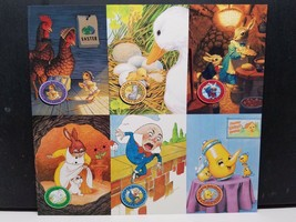 Fleer Holidays 1995 Fantacy Art Promo Sheet 7.25 X 8 Inches Unicorn Publishing - $9.89