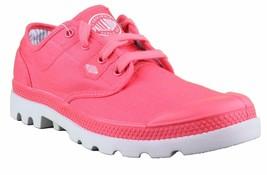 Palladium Pampa Oxford Lite Pink Gray Shoes Dri-Lex Sweat Control Breathability
