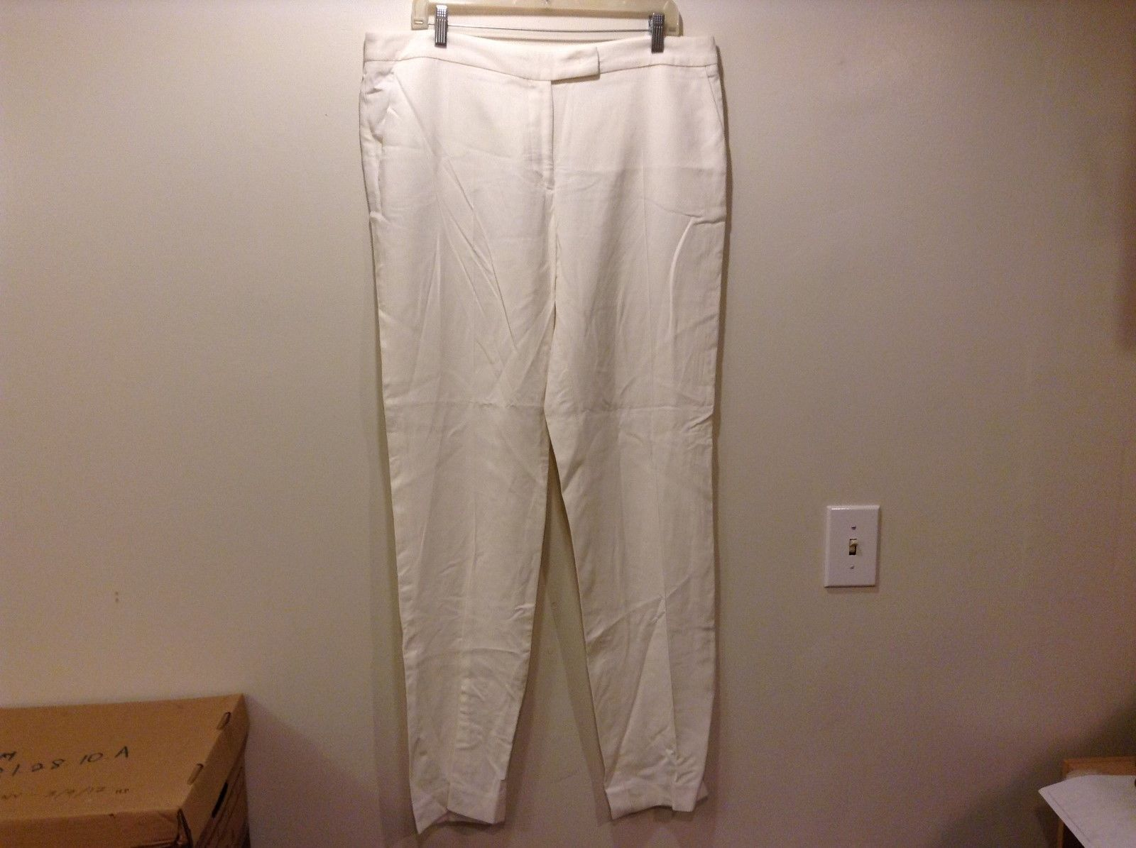 Gerard Darel Ladies White Dress Pants Sz 46