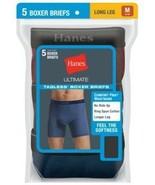 5-Pack Hanes Men's TAGLESS Ultimate Long Leg Dyed Boxer Briefs - Assorte... - $30.39