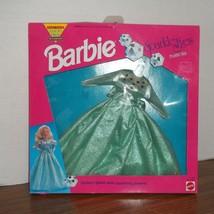 NIB 1984 Barbie Sparkle Eyes Diamond Fashions Glittery Gown RARE NEW Vin... - $15.00