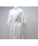 White Nightgown and Robe Secret Treasures Embro... - $28.00