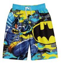 Batman el con Capa Cruzado Traje de Baño Pantalones Cortos Nuevo Chico/J... - $13.08