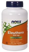 Eleuthero 500mg Now Foods 250 Caps - $22.80