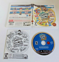 Family Game Night 4: The Game Show complete good shape PS3 Playstation 3 - $14.20