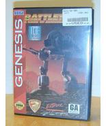 BattleTech - a game of Armored Combat for Sega Genesis - $19.95