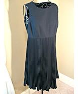 Freebie. Pay ship only. Vintage black dress, pleats, sleeveless, empire,... - $0.00