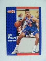 John Williams Cleveland Cavaliers 1991 Fleer Basketball Card 40 - $0.98