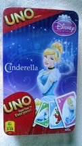 Cinderella Disney Princess UNO Card Game in Collector's Tin - New / Sealed - $19.78