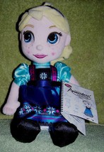 "Disney Animator's Collection Plush ELSA 12"" Doll from Frozen NWT - $16.50"