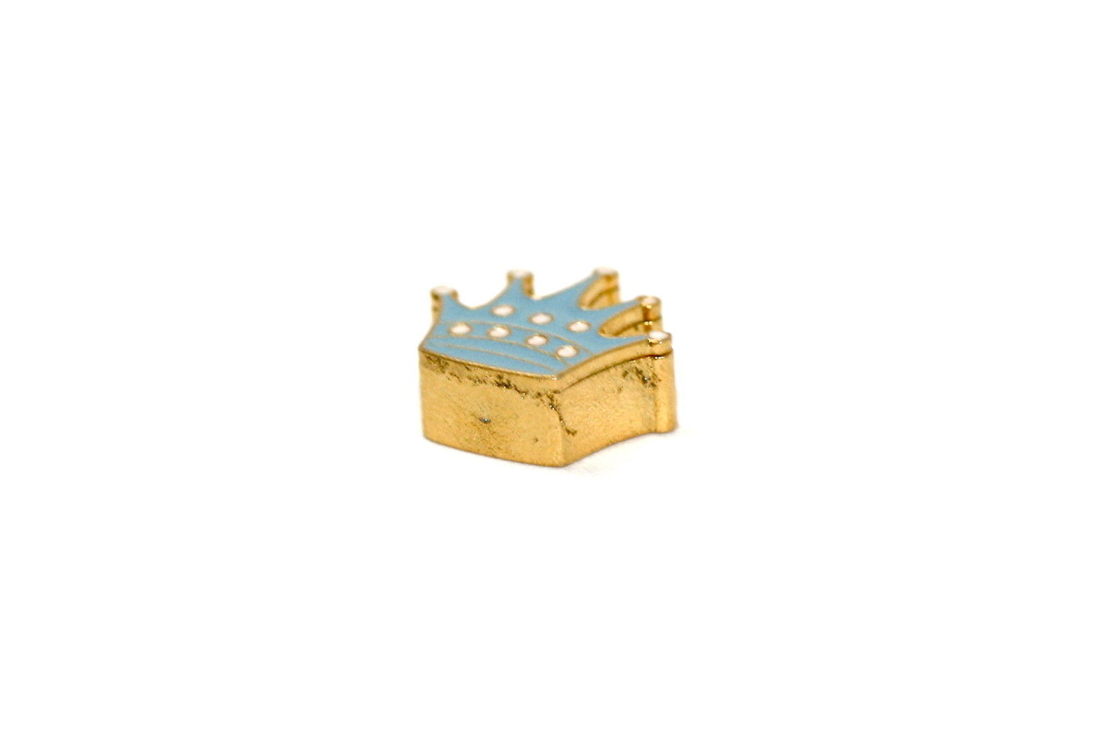 BRACCIALE DISNEY PRINCESS CROWN GOLD STAINLESS STEEL GOLD PLATED CHARM