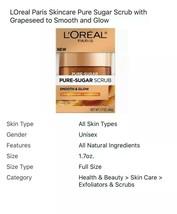 LOreal Paris Skincare Pure Sugar Scrub with Grapeseed to Smooth and Glow - $7.99