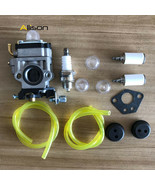 CARBURETOR ASSEMBLY Fit For HARBOR FREIGHT 52CC 2HP PREDATOR EARTH AUGER... - $17.85