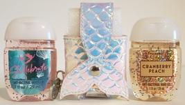 Bath and Body Works pocketbac holder - Mermaid tail + 2 hand sanitizer -... - $17.99