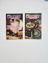 Vintage Annie's Crochet Newsletter Lot Of 2 March 1990 Sept 1992 - $5.93