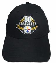 New Era Pittsburgh Steelers Hat 80 Seasons 1933-2017 Adult Adjustable OSFA - £15.57 GBP