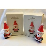 TWO Hallmark Cookies and Cocoa for Santa Christmas Ornament Teacher Gift... - $14.99