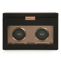 WOLF Axis Double Watch Winder with Storage - Copper 469316 Free US Shipping - $940.00