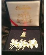 Disney Cinderella Pin Set Velvet Box LE 5000 Coach Carriage Castle Coachman - $89.09