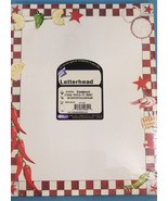 Stationery Paper Print Invitations/Notice/Letter Cookout Eating Design 1... - $12.99