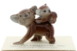Hagen-Renaker Miniature Ceramic Figurine Koala with Baby on Back image 1