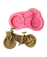 Bicycle Silicone Mold, Cycling Silicone Mold, Baking Supply, Bike Silico... - $9.99