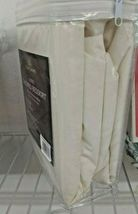 Todays Home Levinsohn Basic Cotton 200TC Tailored 14 in. Bed Skirt Ivory - Queen image 5