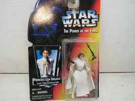 Star Wars Power of The Force (1996) Princess Leia Organa Red Card Figure - $15.99
