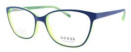 GUESS GU3008 091 Eye Candy Women's Eyeglasses Frame 51-15-135 Matte Blue / Green - $64.15