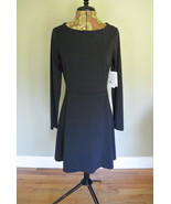 Athleta Dress S Cozy Up Black Lycra Casual Athletic Active Wear Travel New - $49.95