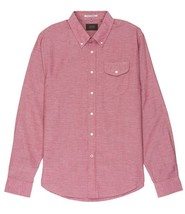 Mens Jachs NY Red Washed Light Oxford Long Sleeve Shirt J17A-240-GA1 - $41.99