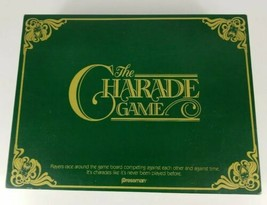The Charade Game 1985 Pressman Board Game - $18.69