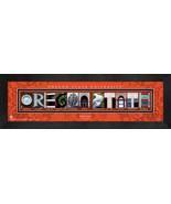 Personalized Oregon State University Campus Letter Art Framed Print - $39.95