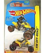 2015 Hot Wheels #84 HW Off-Road-HW Moto SAND STINGER Yellow Variant w/OR... - $7.75