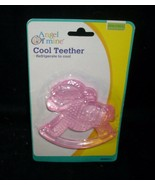 BRAND NEW ANGEL OF MINE COOLING TEETHER PINK BABY INFANT ROCKING HORSE B... - $11.30