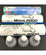 Lot of 3 Cans (18 total) Kawasaki & Yonex MAVIS 2000 Badminton Shuttleco... - $24.98